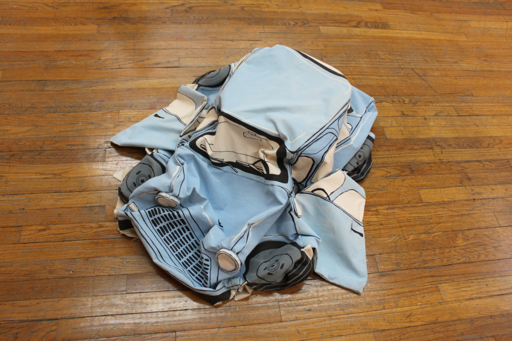 Deflated Trabant