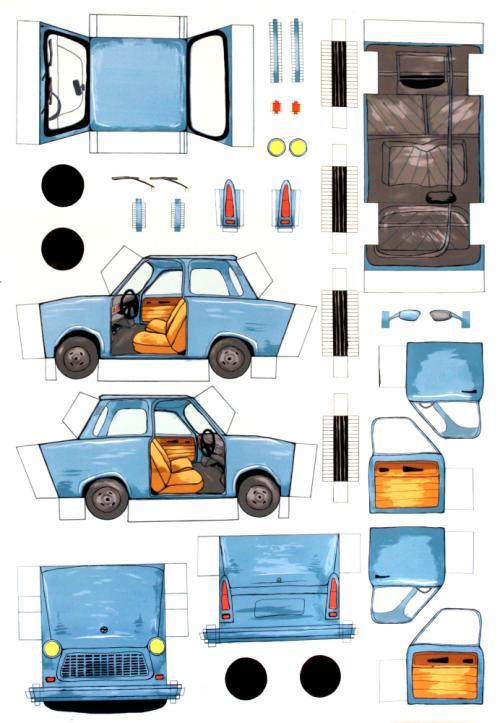 Blue Trabant