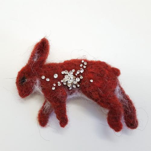 Red Bunny Roadkill